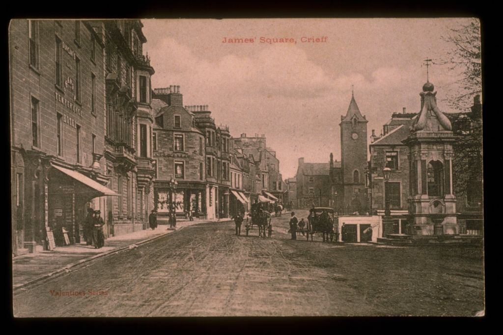 James' Square, Crieff.