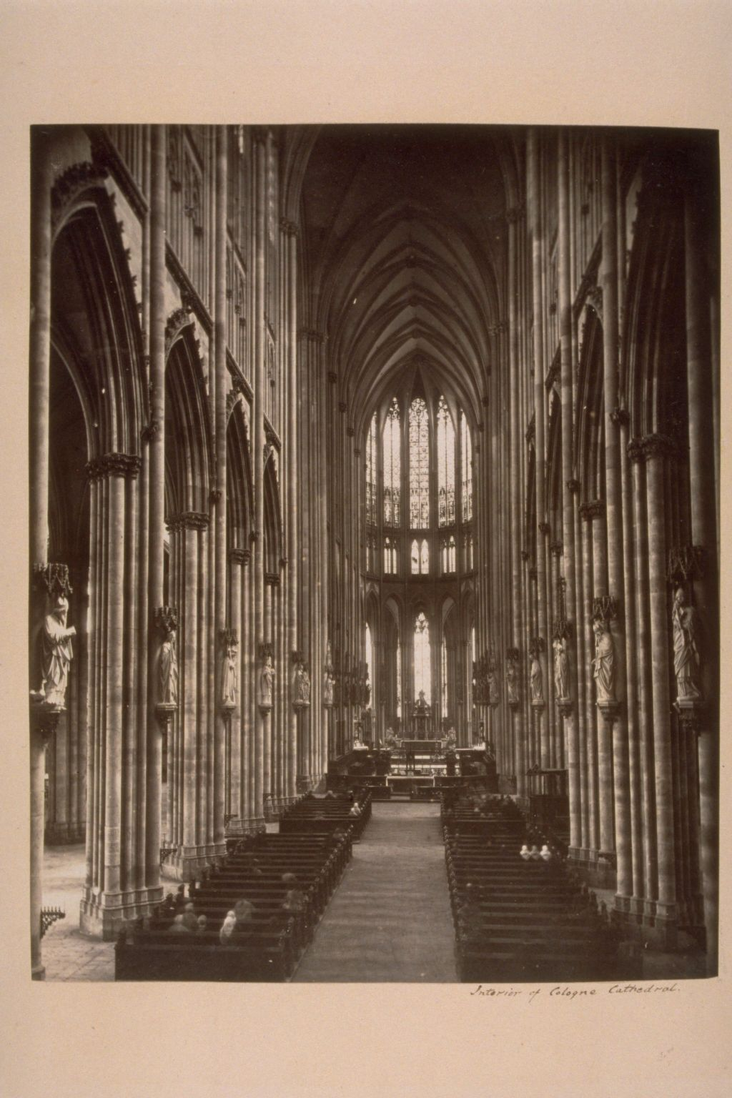 Interior Cologne Cathedral.