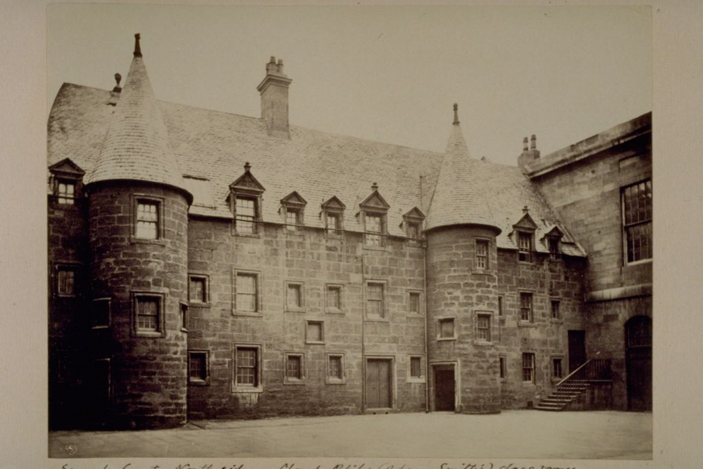 North side, Second Court, University of Glasgow.