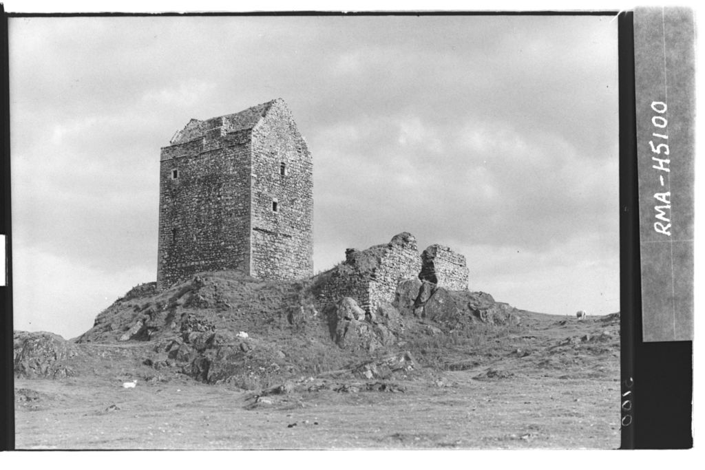 Smailholm Tower from north west.