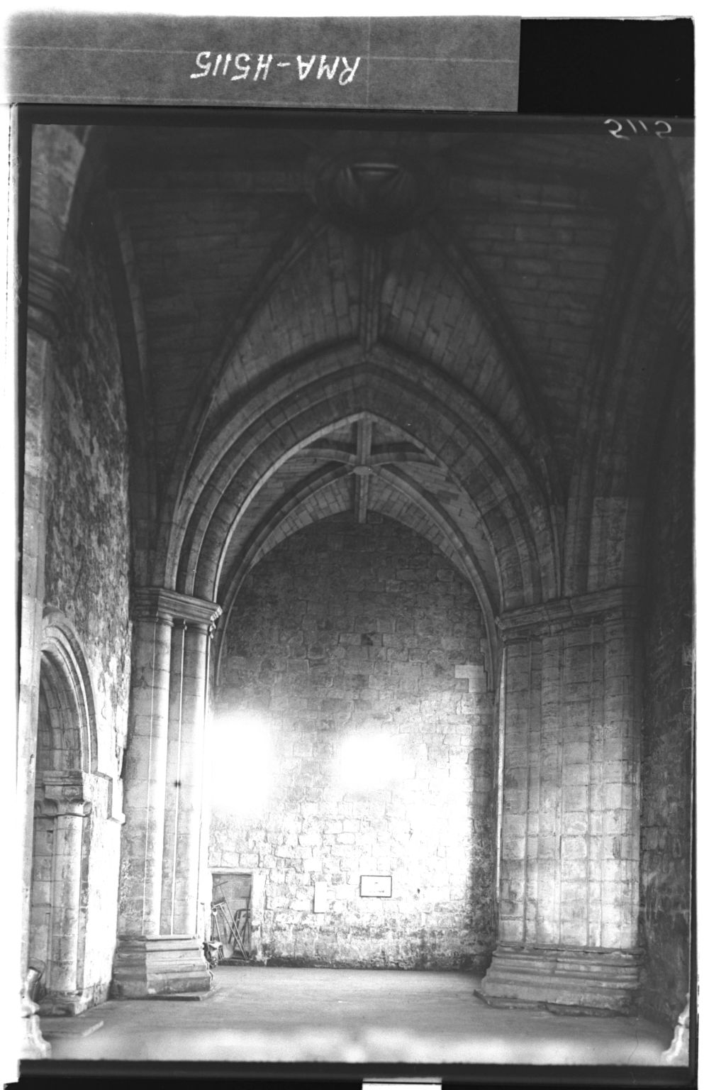 Torphichen Church interior.