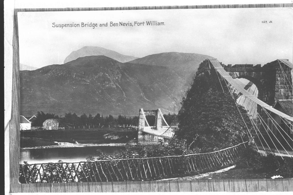 Suspension Bridge and Ben Nevis.