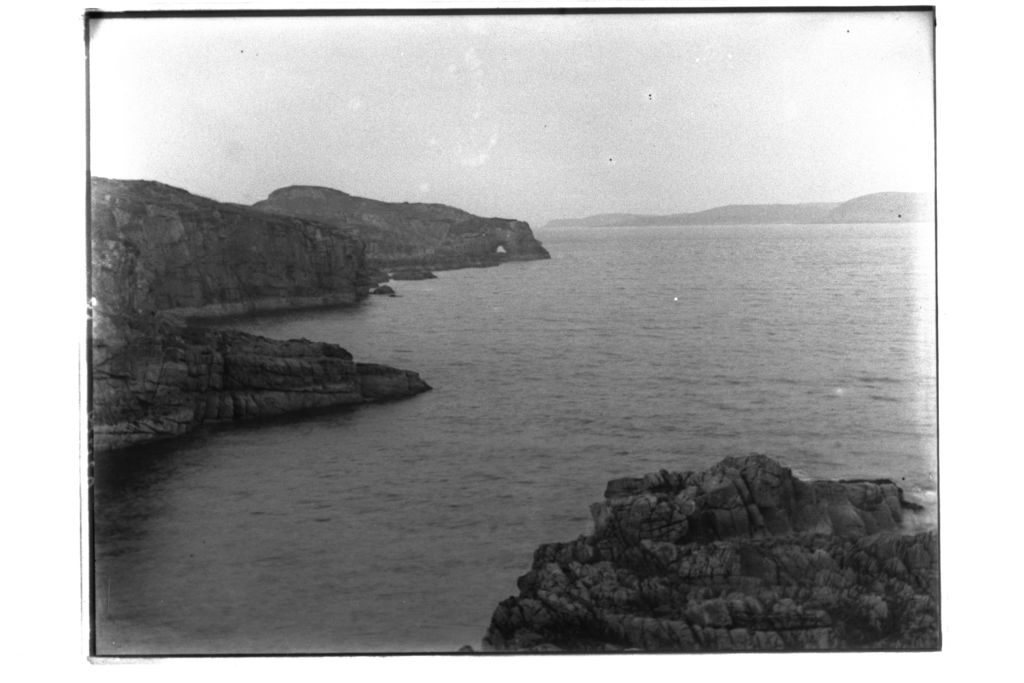 Cliffs from Cove [Inverasdale, Rosshire.