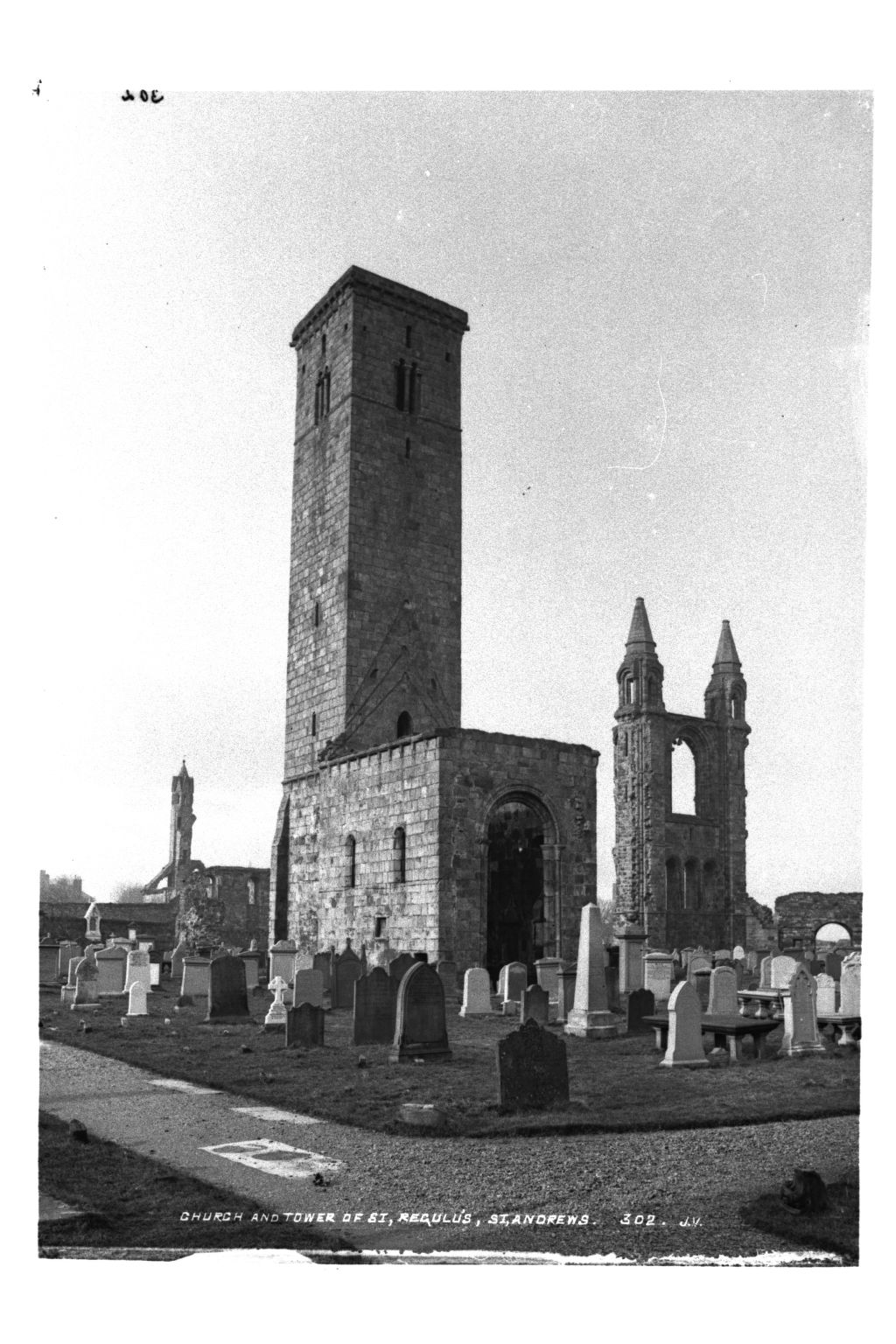 St Rule's Tower, St Andrews.