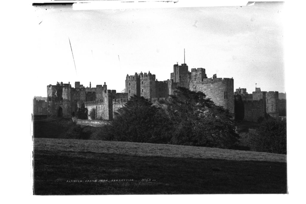 Alnwick Castle from Barneyside.