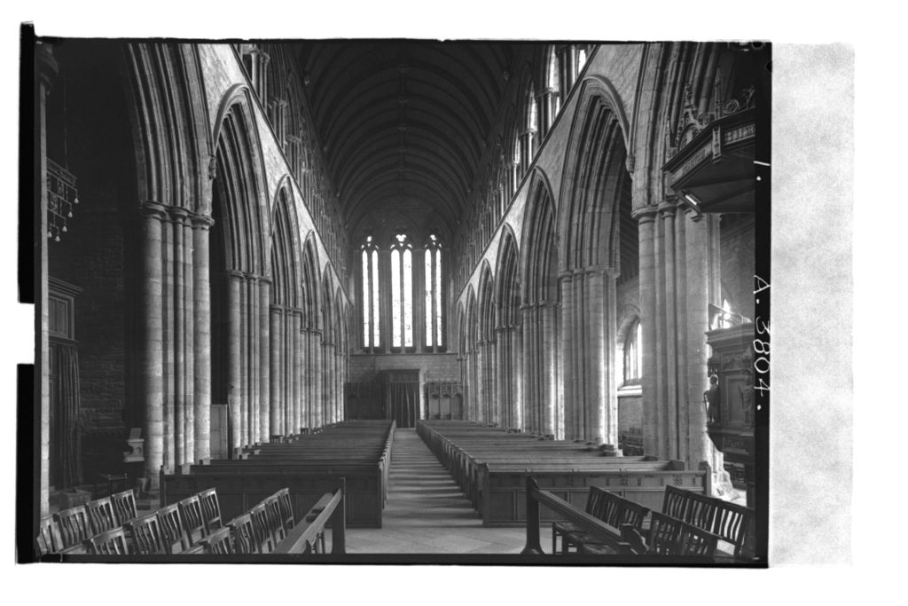 Dunblane Cathedral. The Nave.