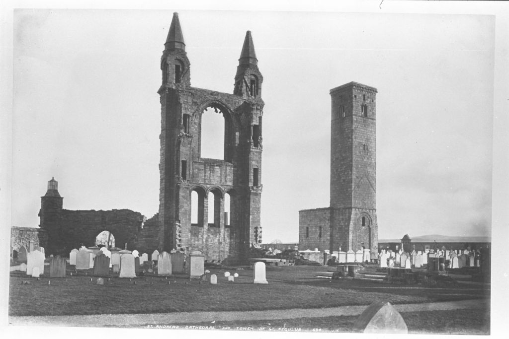 St Andrews Cathedral and Tower.