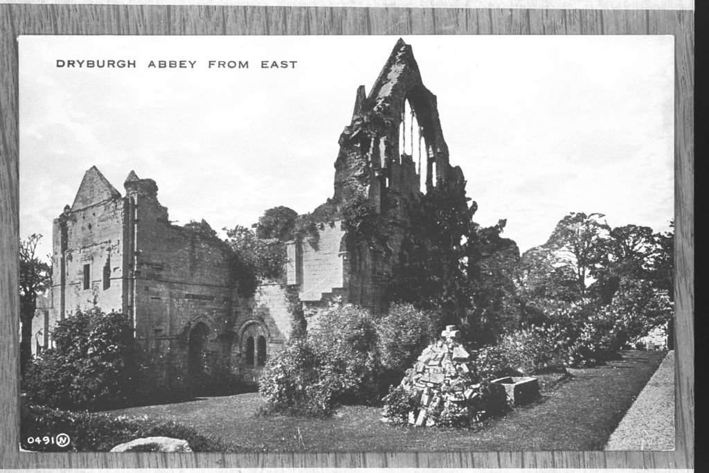 Dryburgh Abbey from the east.