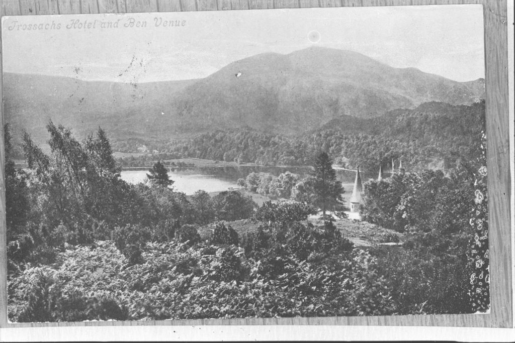 Trossachs Hotel and Ben Venue.
