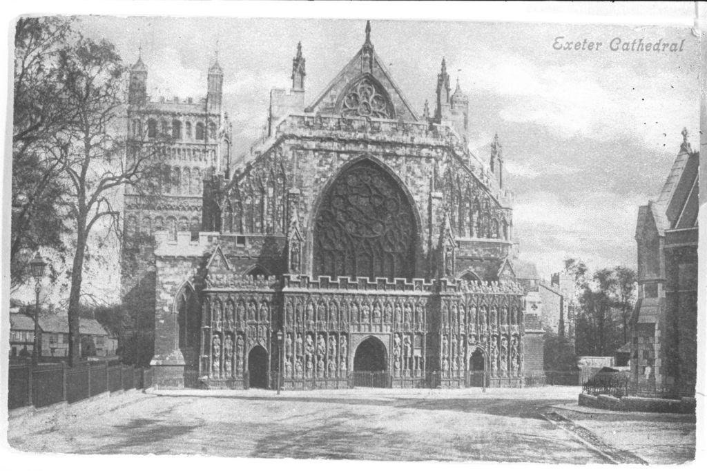 Exeter Cathedral.