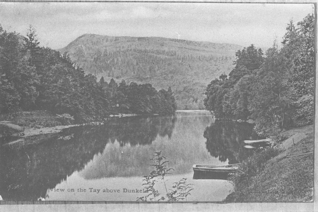 View on the Tay above Dunkeld.