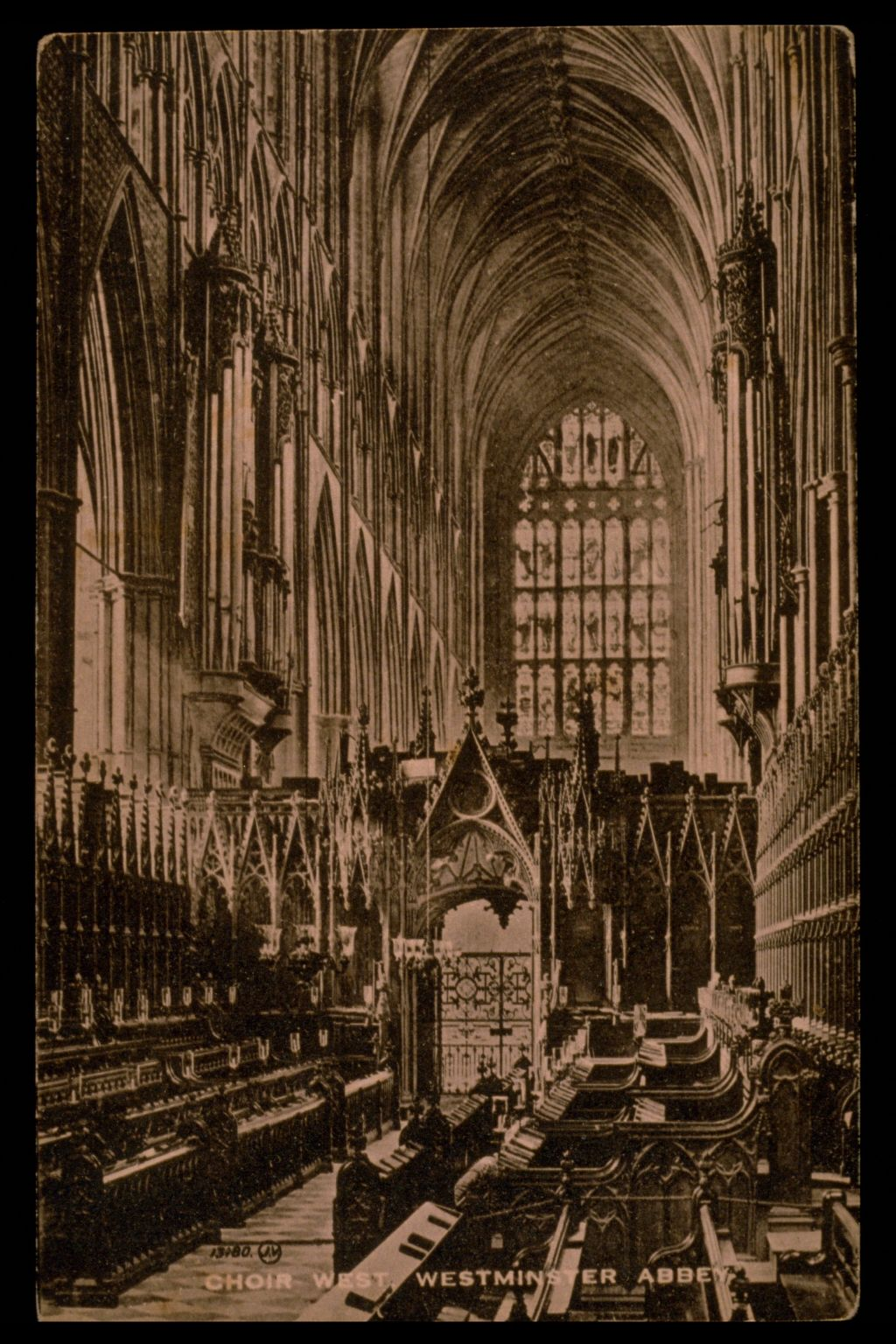 Choir West, Westminster Abbey.