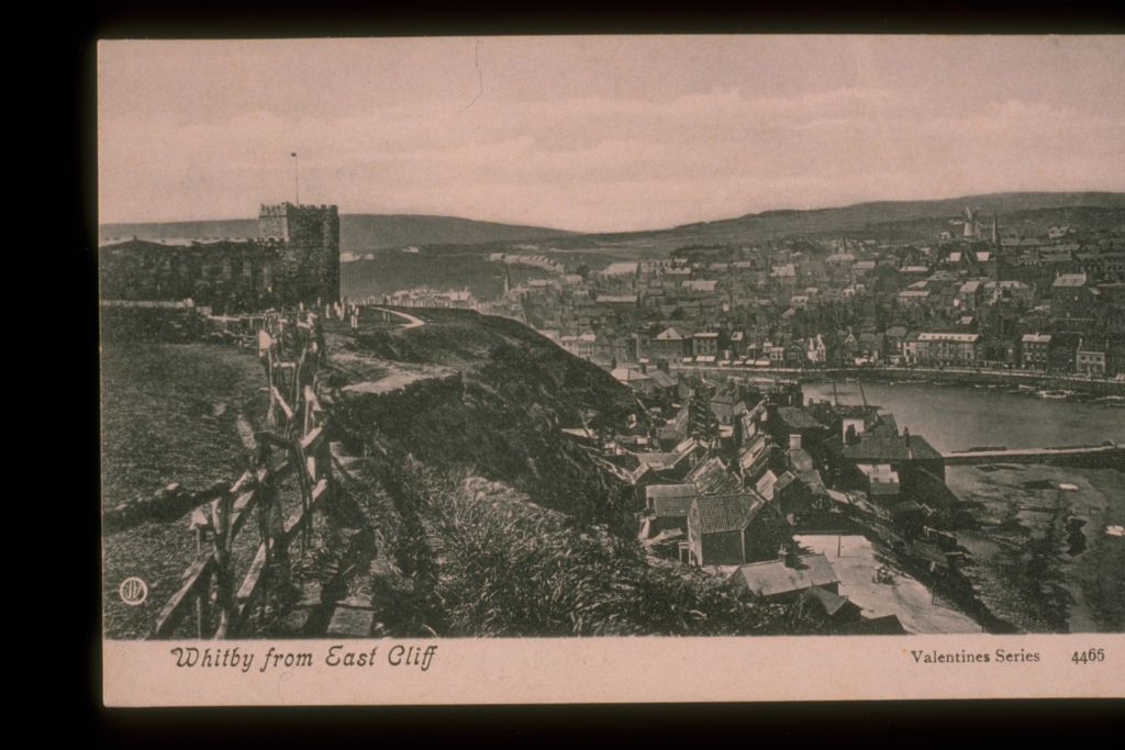 Whitby from East Cliff.
