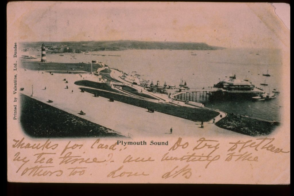 Plymouth Sound.