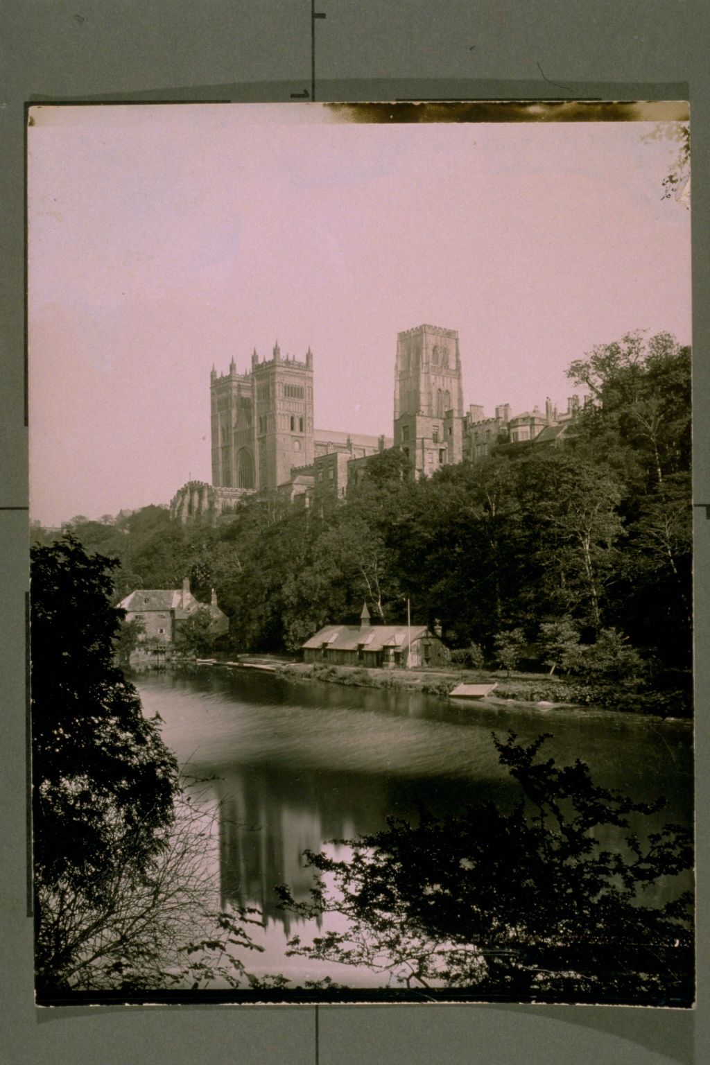 Durham Cathedral fr the Banks.
