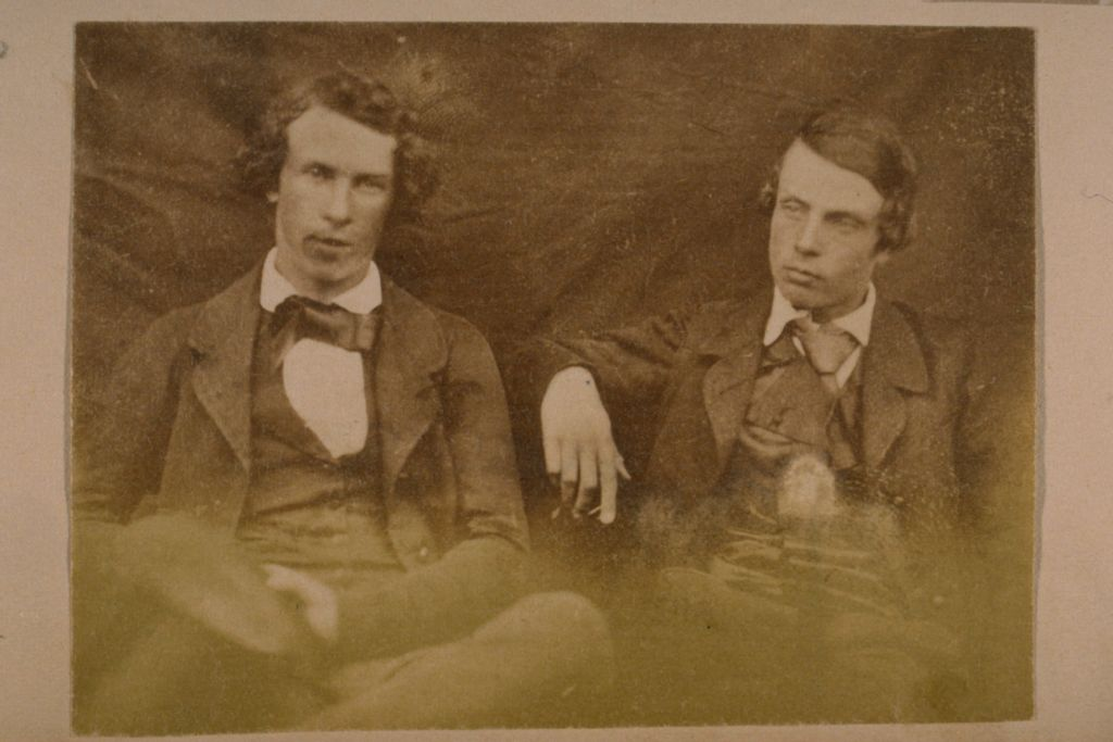 Two young unidentified men.