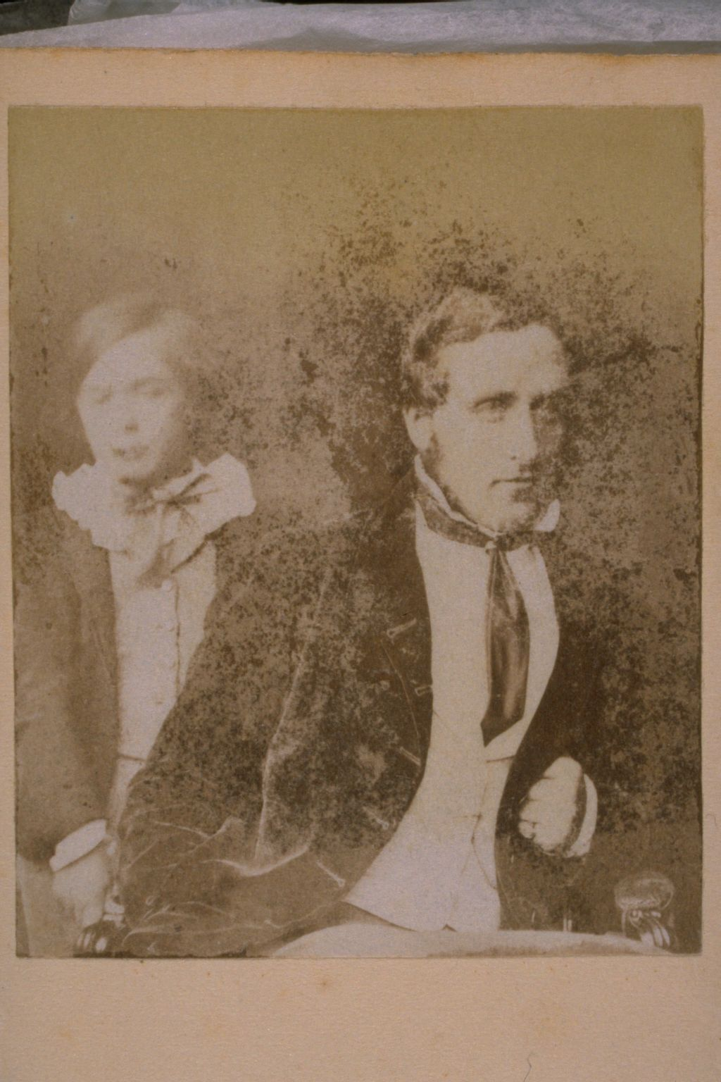 Unidentified man and boy.