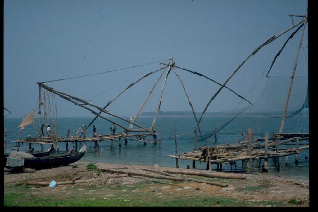 Fishing nets, Kochi (Cochin)