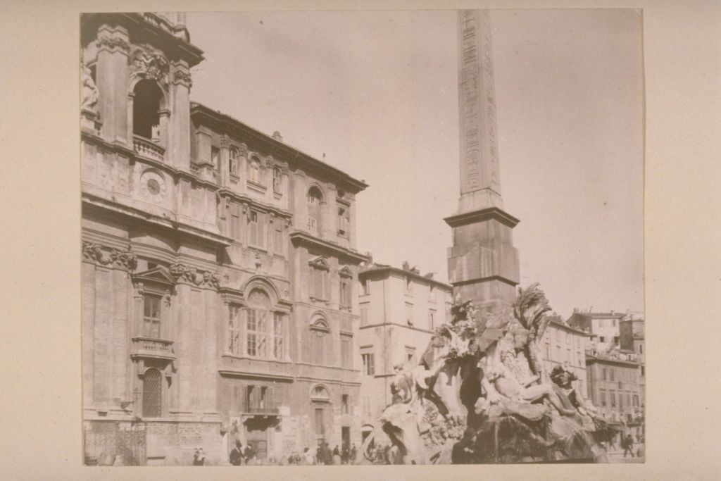 Piazza Navona & S. Agnese, Rome.
