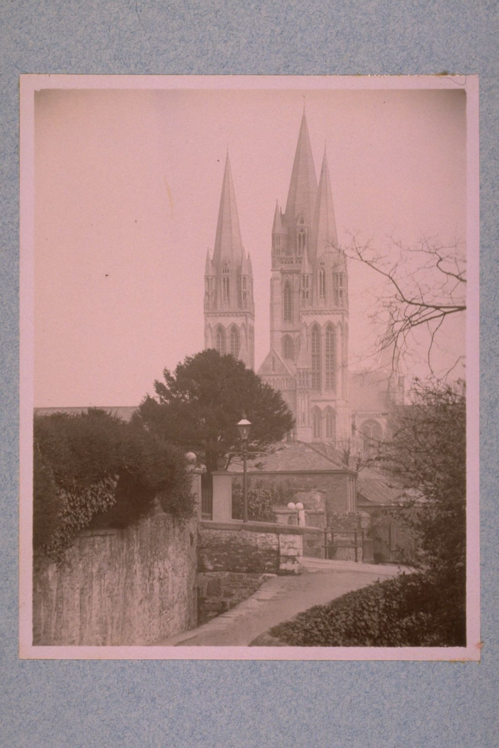 Truro [Cathedral], West towers.