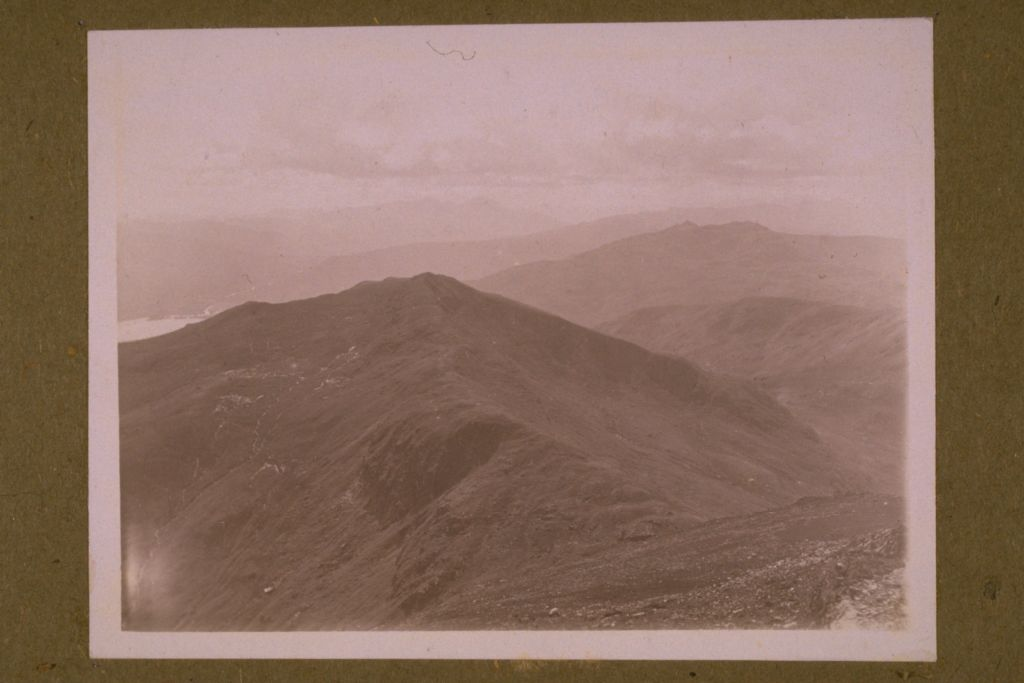 Ben Lawers from summit.