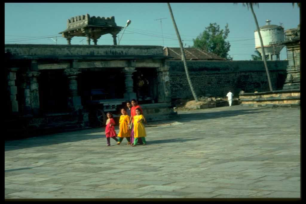 Indian Family at Belur.