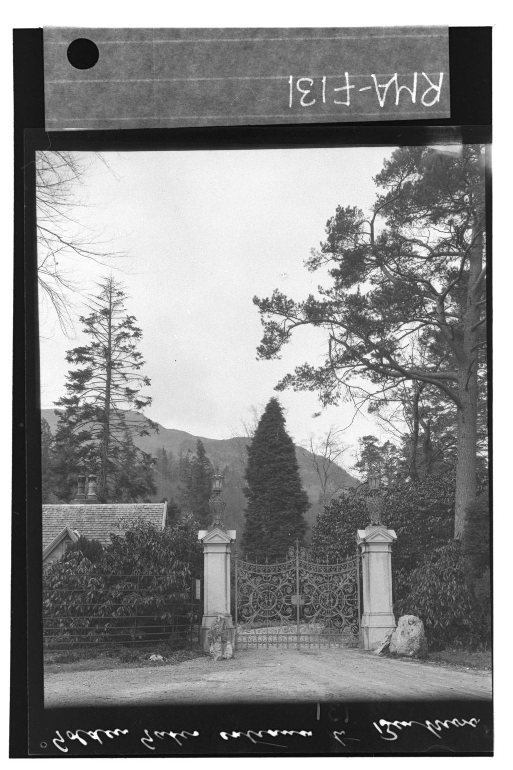 Entrance, Benmore House.