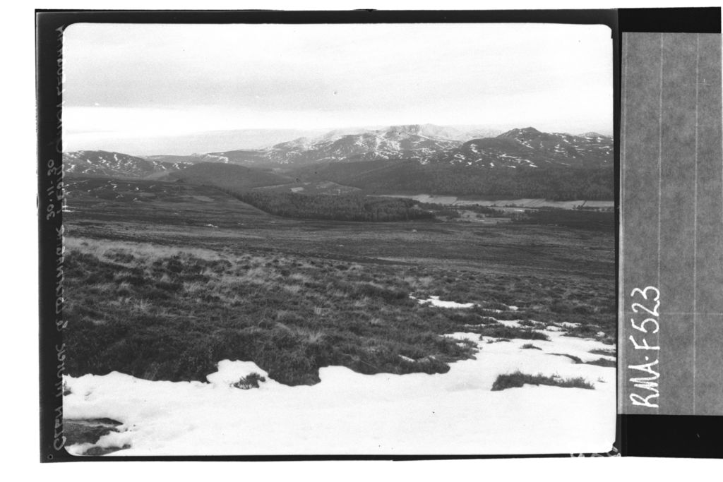 Lochnagar and Glen Muick.