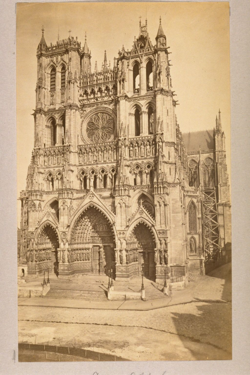 The West Front, Amiens Cathedral.