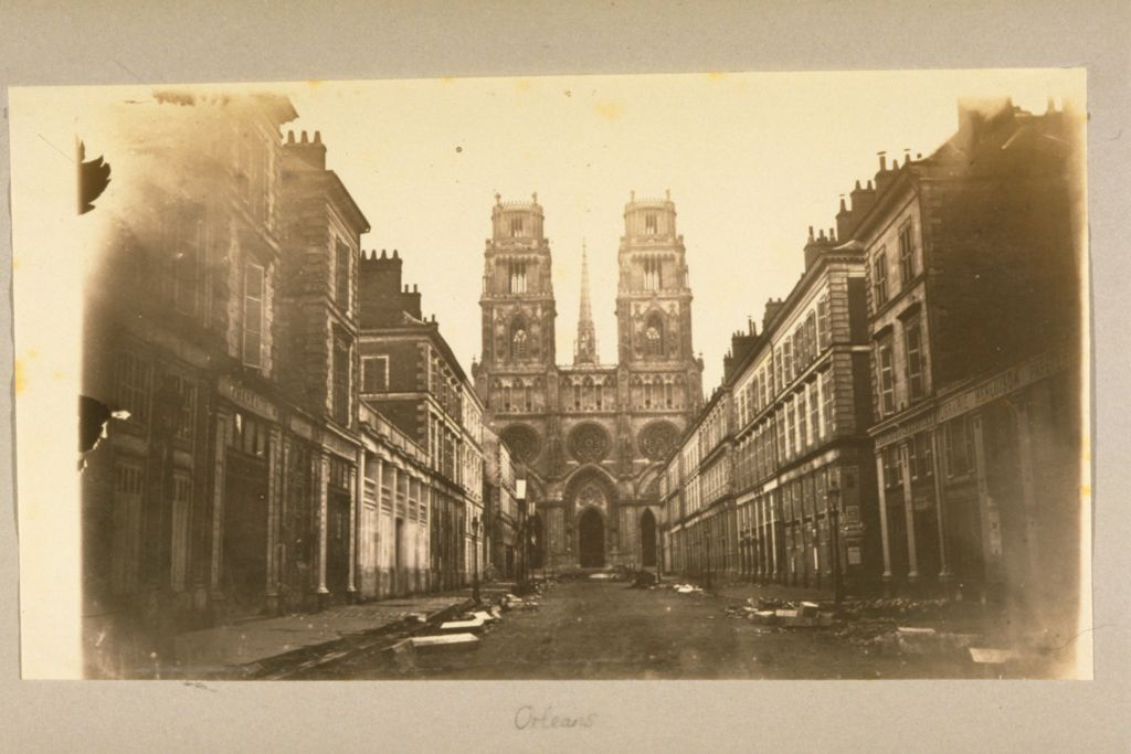 West Front, Orleans Cathedral.