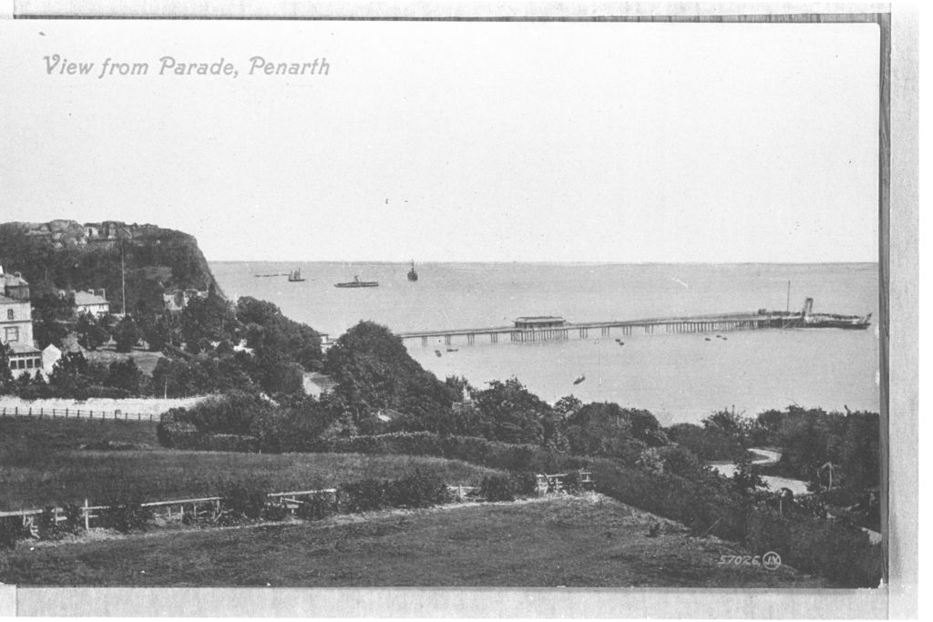 View from Parade, Penarth.