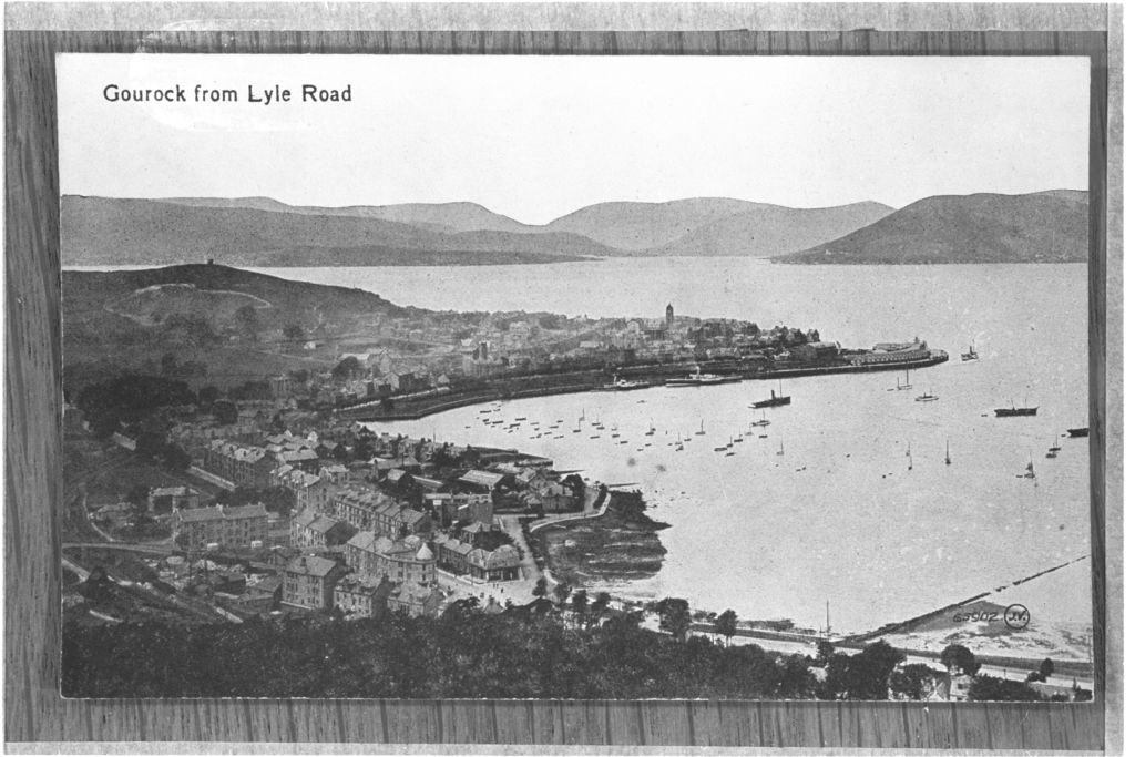 Gourock from Lyle Road.
