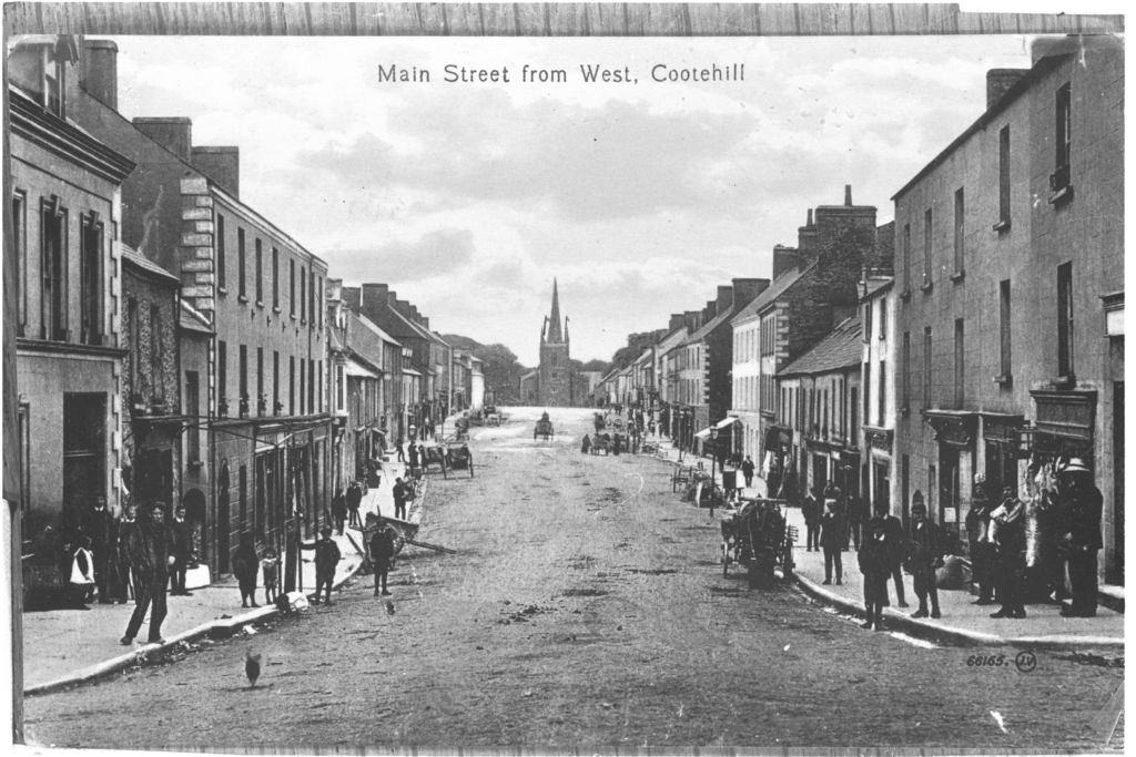 Main Street from West, Cootehill.
