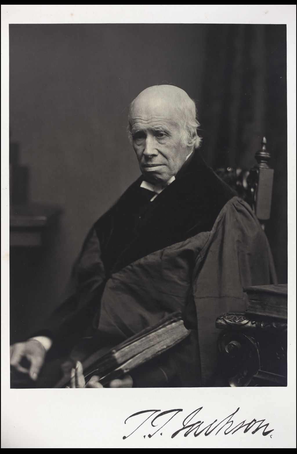 Thomas Thomson Jackson, DD, Professor of Ecclesiatical History, [University of Glasgow] Glasgow.