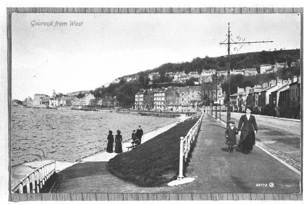 Gourock from West.