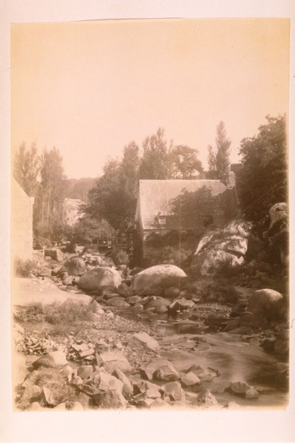 [Unidentified river and mill].