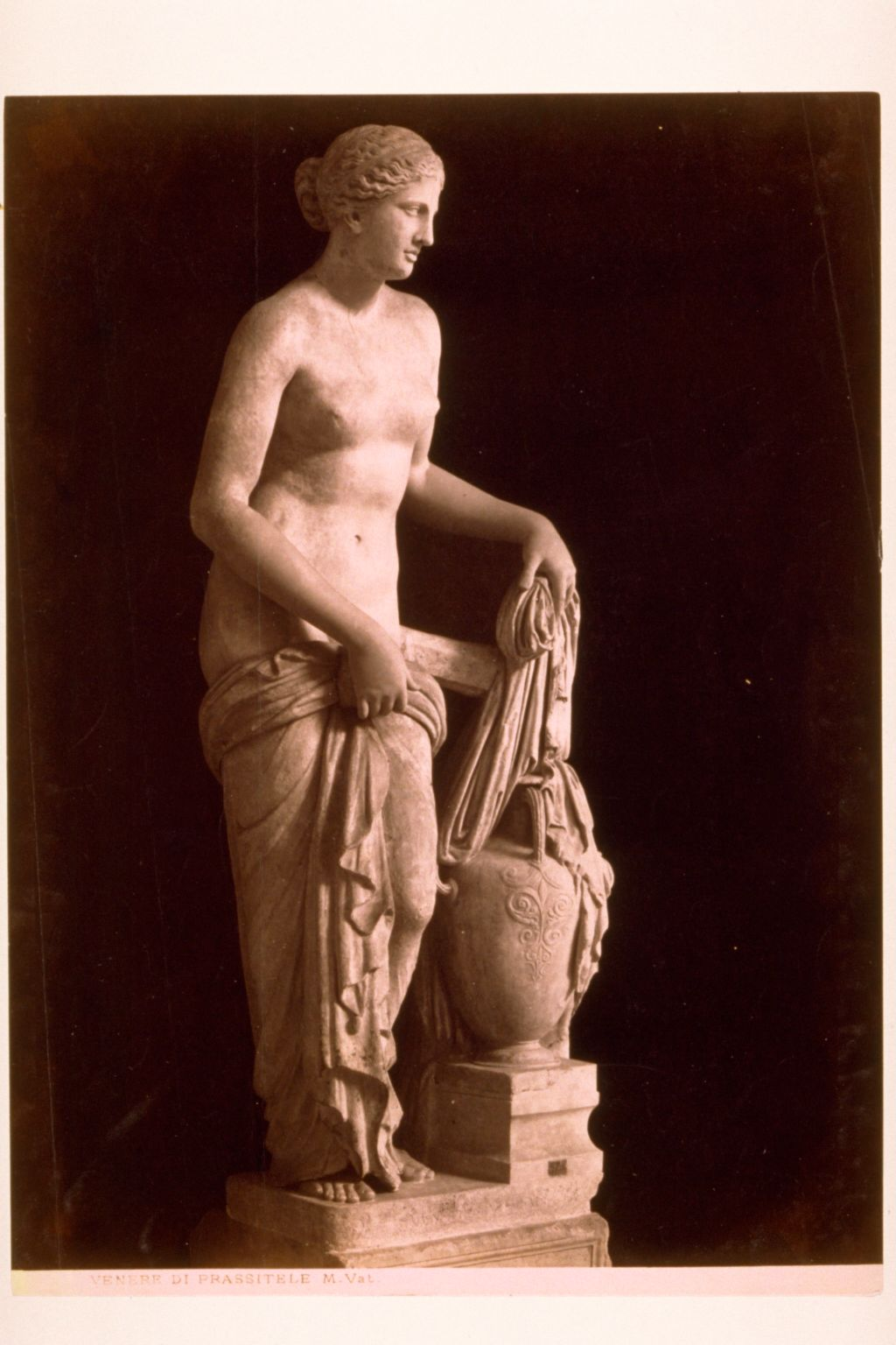 Venere di Prassitele. (Copy of Aphrodite of Knidos)