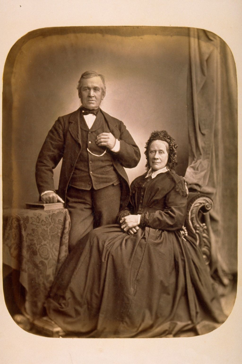 [Unidentified man and woman].