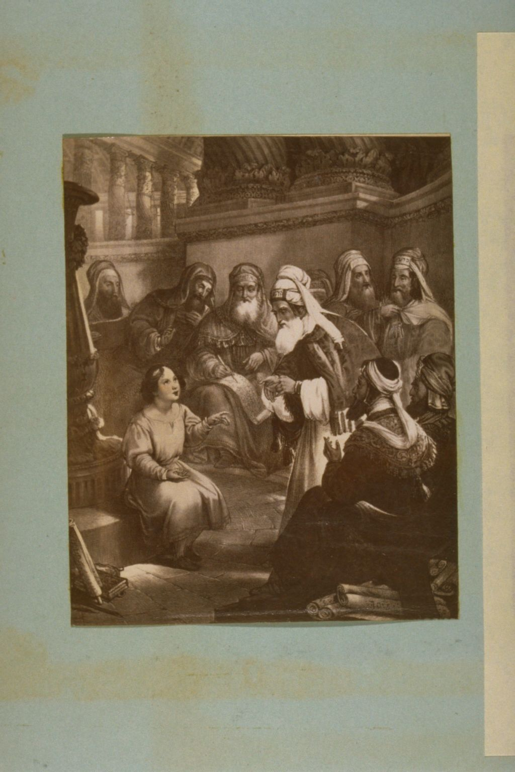 Christ with the Doctors in the Temple.