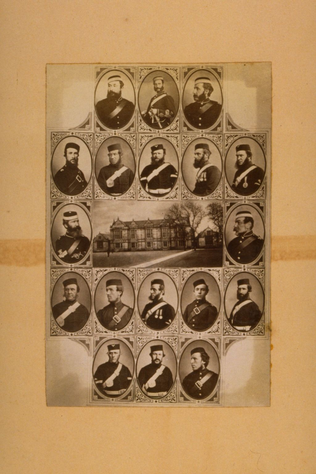 Madras College & uniformed men.