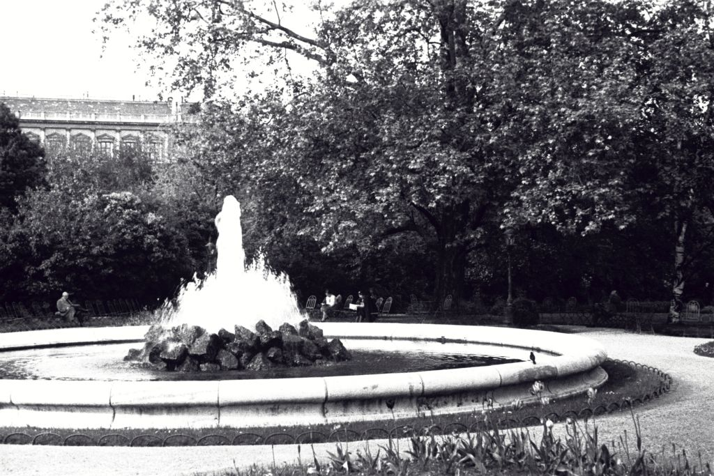 Park Fountain, Vienna.