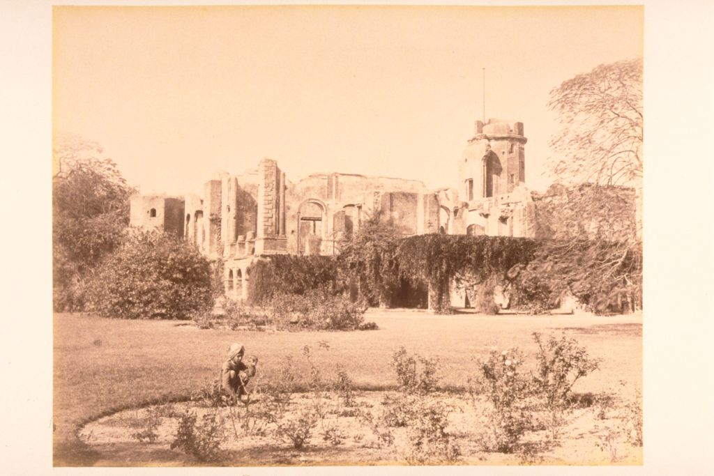 [THe British Residency after the siege of Lucknow].
