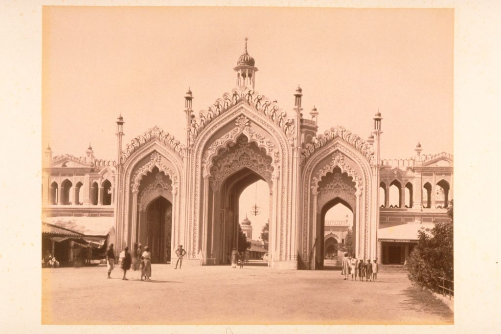 Hussainabad Gate, Lucknow.