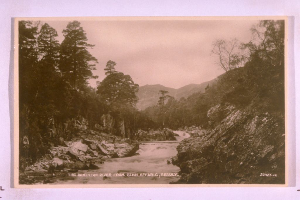 Benevean River, Glen Affaric.
