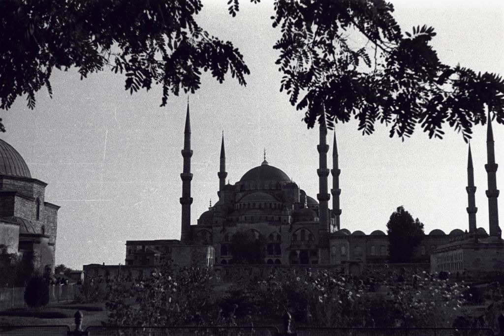 The Blue Mosque, Sultanahmet, Istanbul.