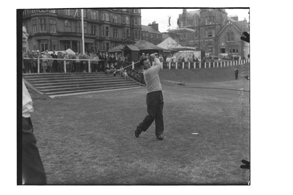 Dai Rees (South Herts), the Centenary Open Championship, St Andrews.