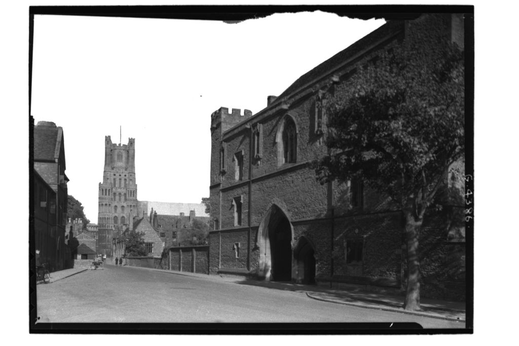 Porta and Cathedral, Ely.