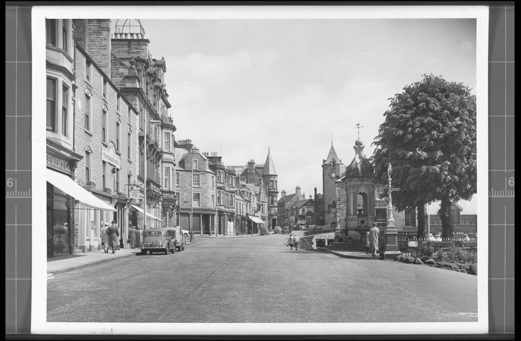 James Square, Crieff.