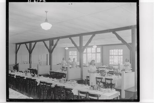 Dining Hall, Kingsdown Camp.