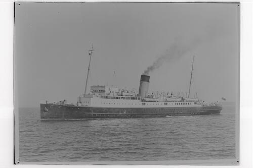 "S.S.""Isle of Thanet""."
